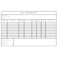 Daily Time Record