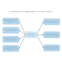 Overall Duties of a Legal Assistant in Complex Litigation