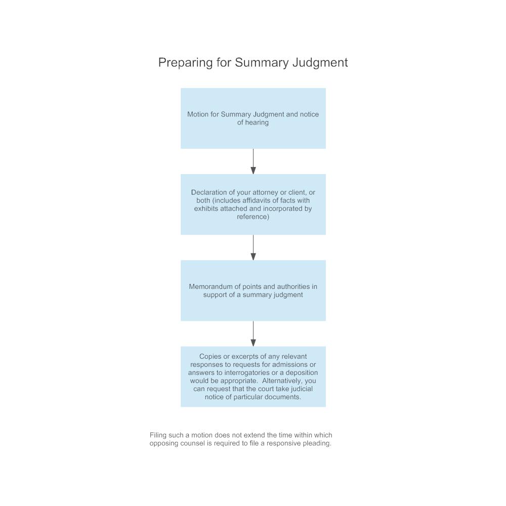 Example Image: Summary Judgment