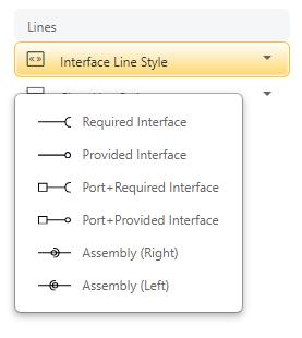 Define interface types