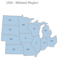 USA Region - Midwest
