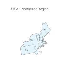USA Region - Northeast