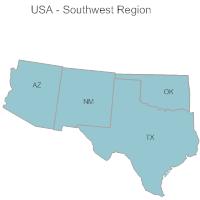 USA Region - Southwest