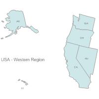 USA Region - Western