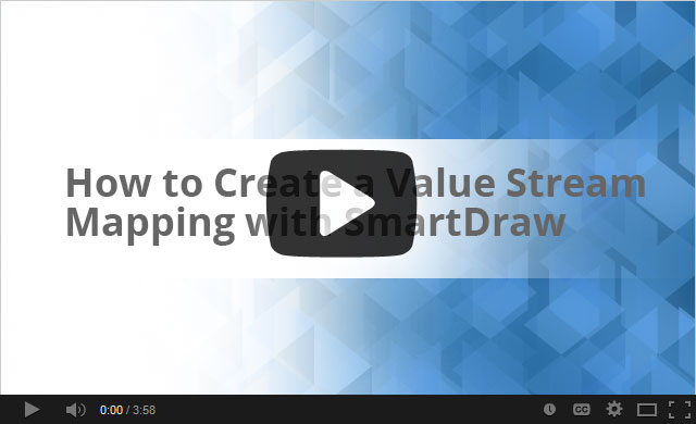 Watch this video about value stream mapping