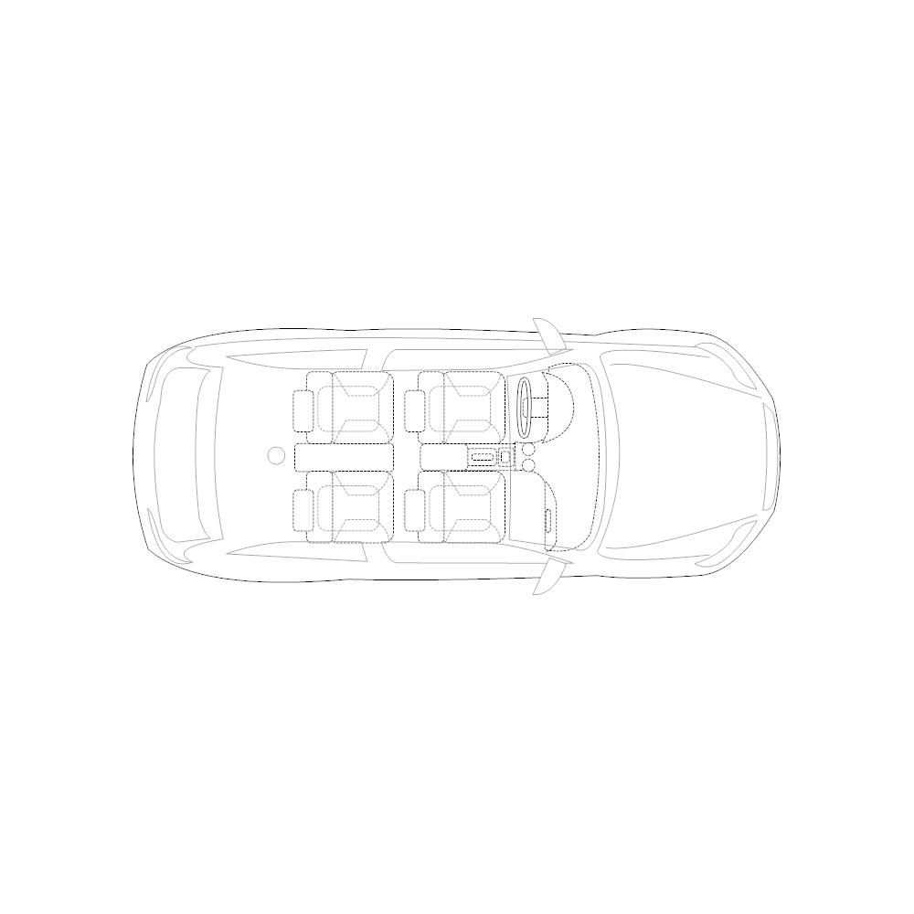 Example Image: 2-Door Compact Car - 2 (Elevation View)