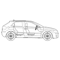 Vehicle Diagram Templates