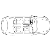 4-Door Compact Car - 2 (Elevation View)