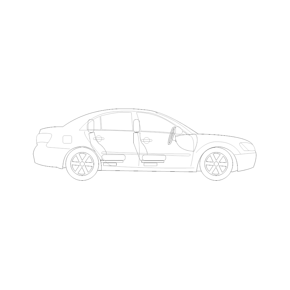 Example Image: Family Car - 2 (Side View)