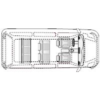 Minivan - 1 (Elevation View)