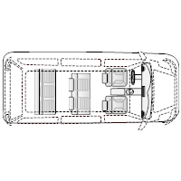 Minivan - 1 (Elevation View)