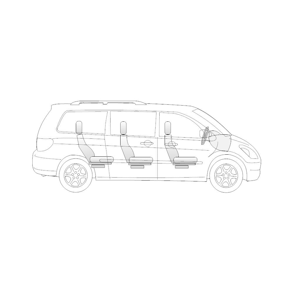 Example Image: Minivan - 1 (Side View)
