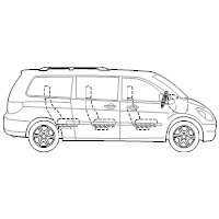 Minivan - 2 (Side View)