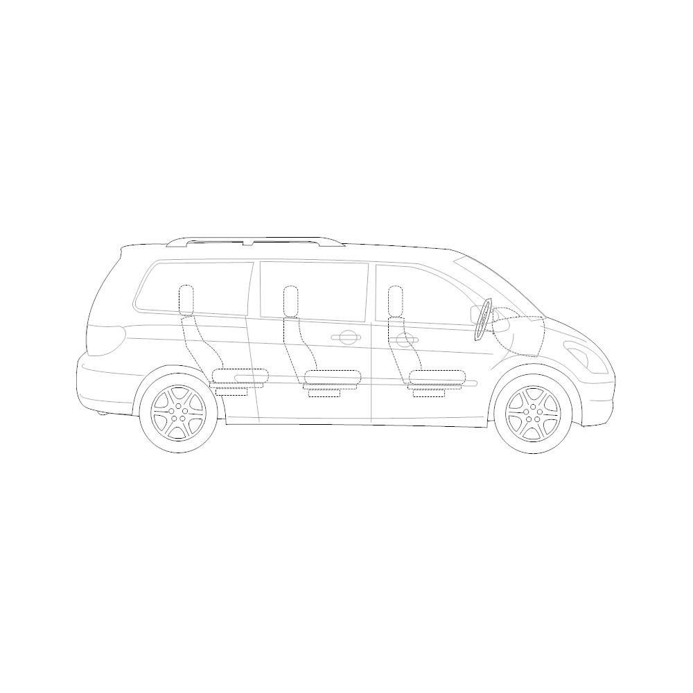 Example Image: Minivan - 2 (Side View)