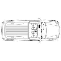 Pickup Truck - 2 (Elevation View)