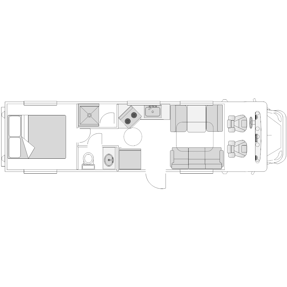 Example Image: RV - 1 (Elevation View)