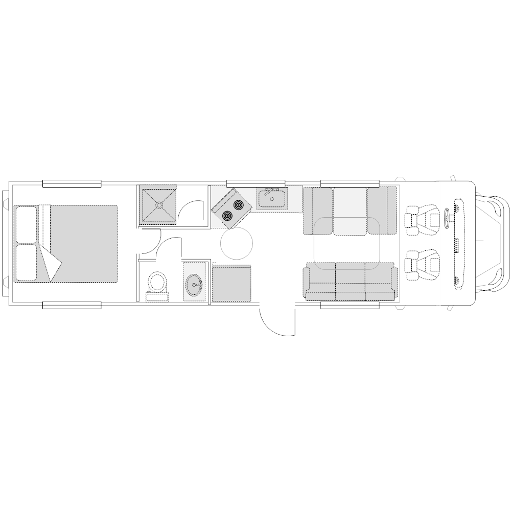 Example Image: RV - 2 (Elevation View)