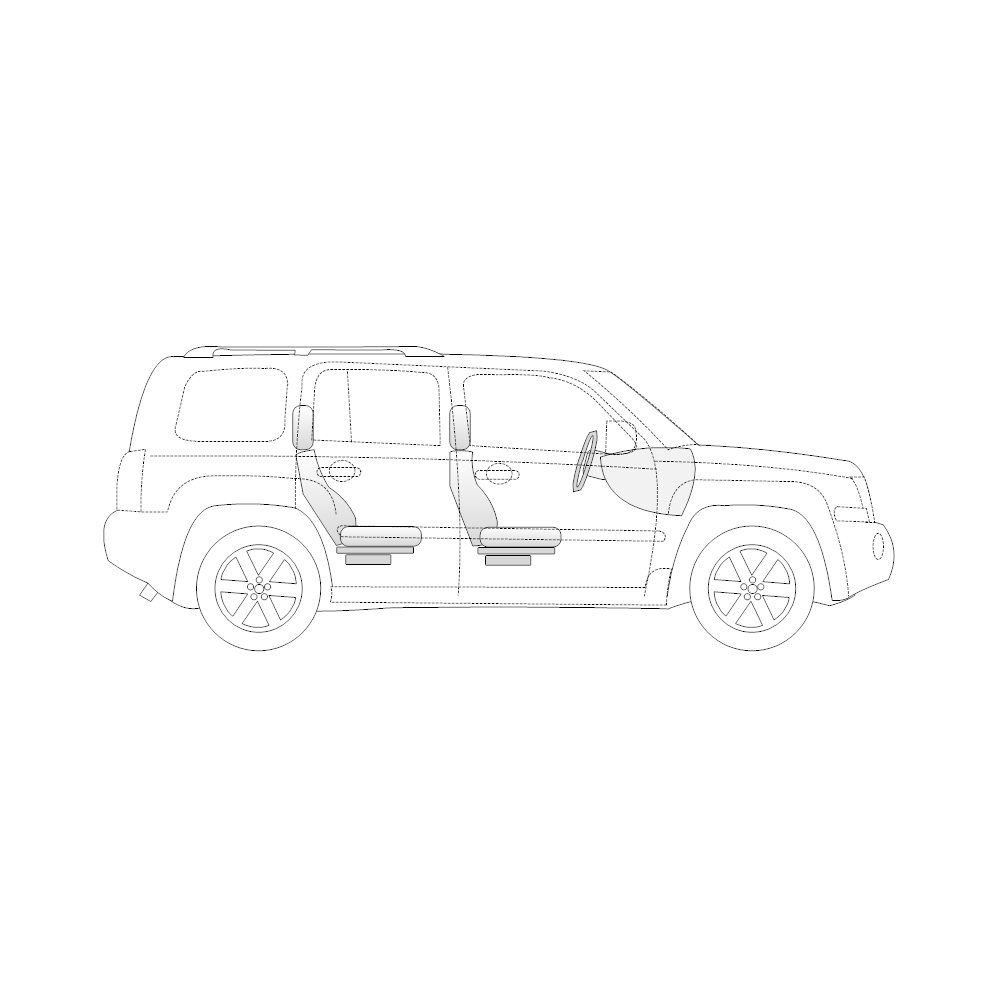 Example Image: SUV - 1 (Side View)