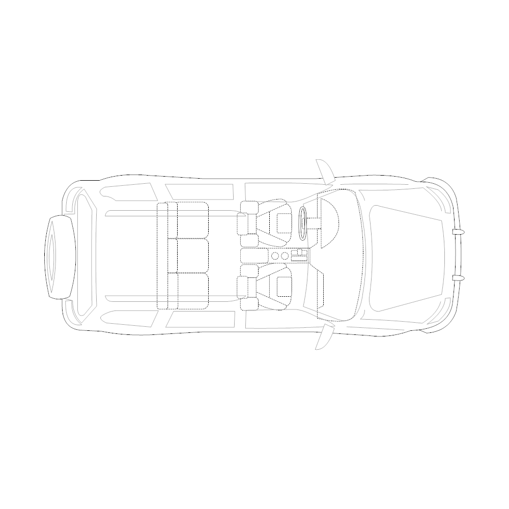 Example Image: SUV - 2 (Elevation View)
