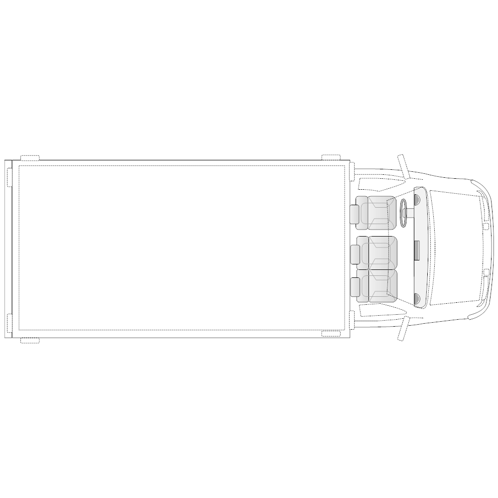Example Image: Truck - 1 (Elevation View)