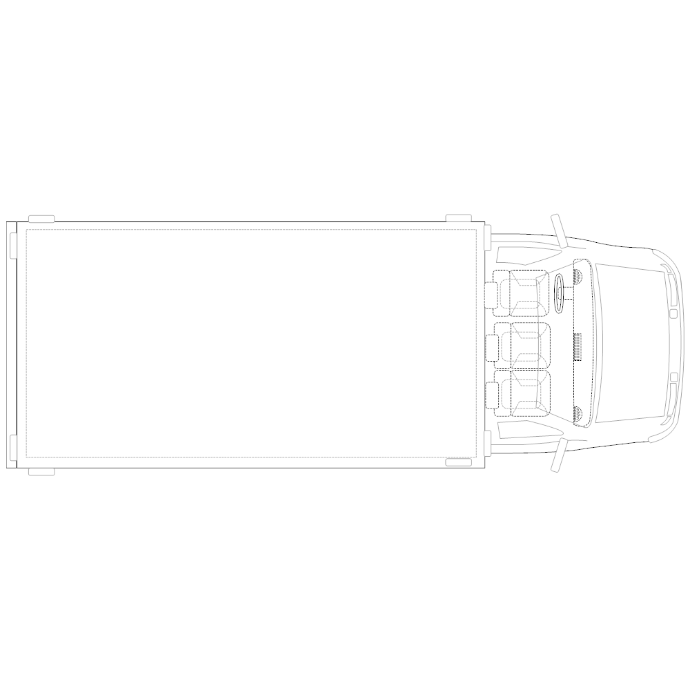 Example Image: Truck - 2 (Elevation View)
