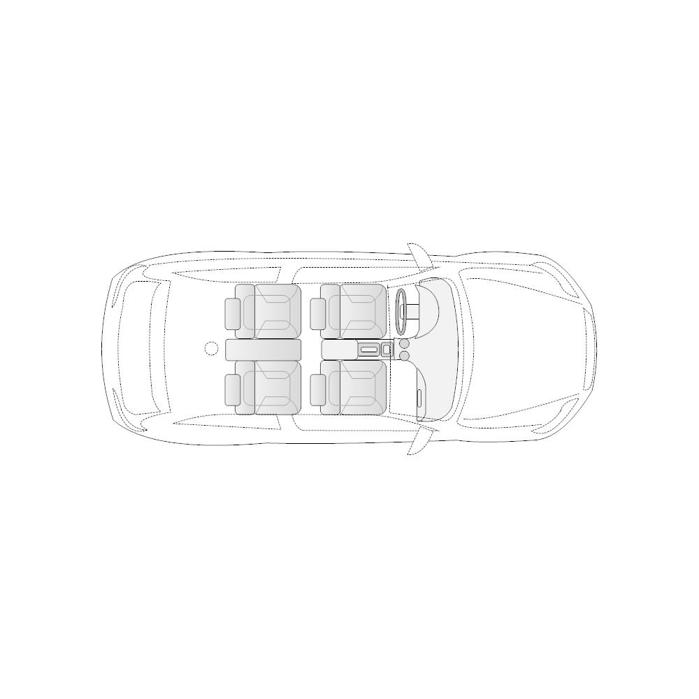 Example Image: Vehicle Diagram - 2-Door Compact Car
