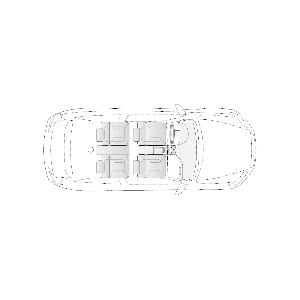Example Image: Vehicle Diagram - 2-Door Compact Car
