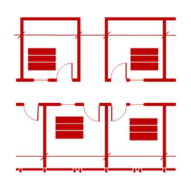 Visio floor plan
