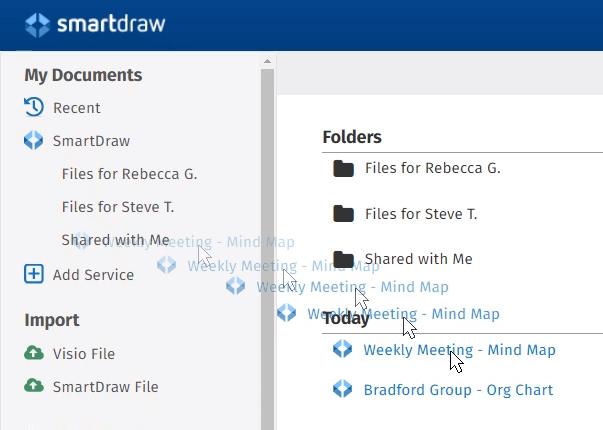Easy file organization