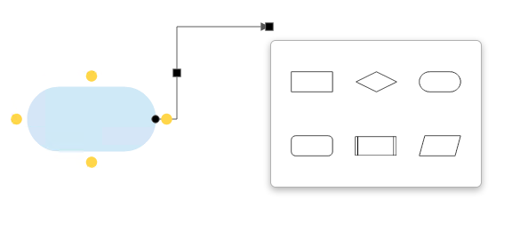 Easier line drawing for flowcharts