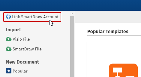 Link SmartDraw Account to Confluence