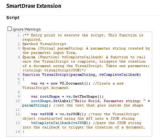 Create Your Own Extension with the New JavaScript Editor