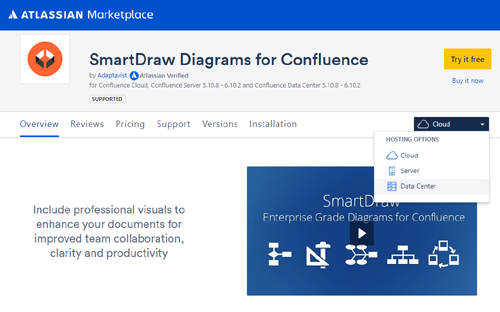 How to get SmartDraw for Data Center