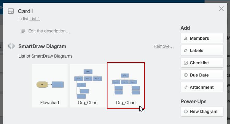 Saved diagrams