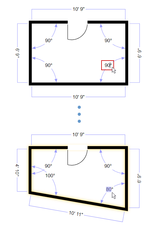 Type wall angle