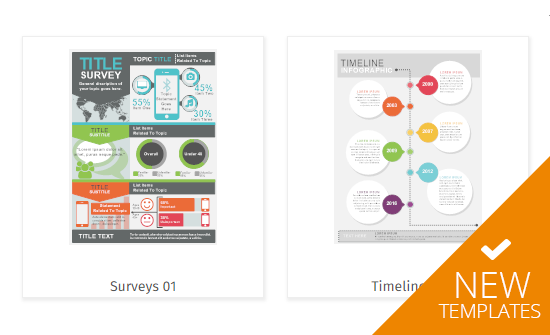 New infographic examples and templates