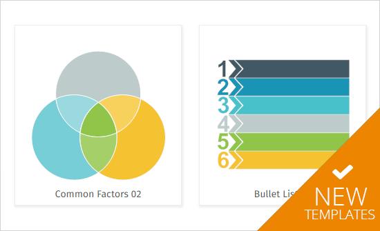 New infographic templates