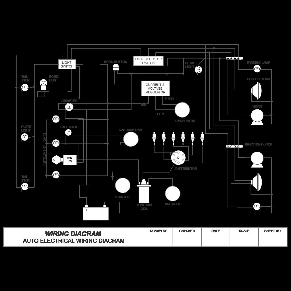 Example Image: Wiring Diagram - Auto