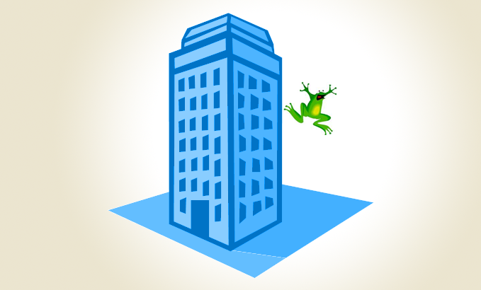 Lessons in bad management with Felix the flying frog